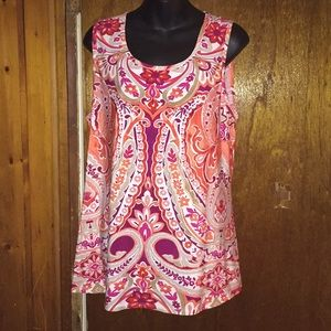 CB Burnt orange size xl classy women's blouse